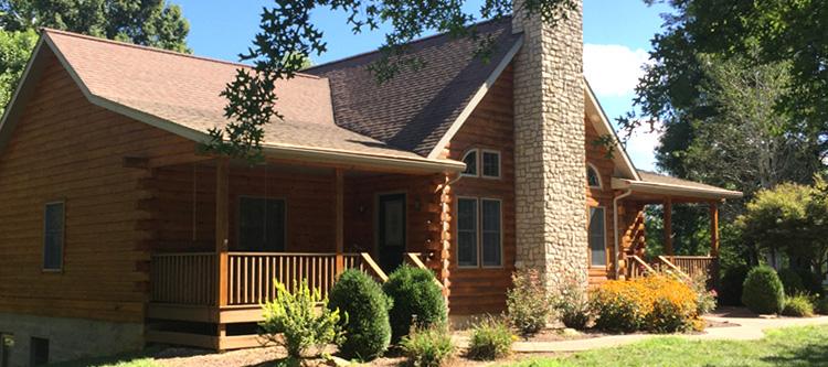 Log Home Log Repairs  Logan County, Kentucky