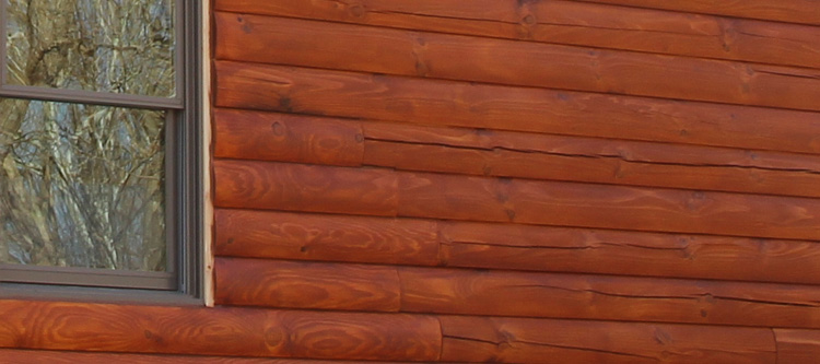 Log Home Face Restoration  Logan County, Kentucky