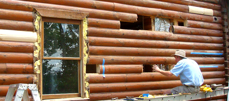 Log Home Repair Logan County, Kentucky